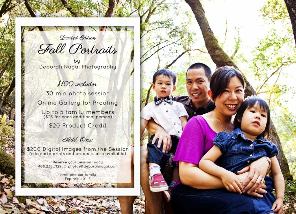 2013fallFamilyPromotion Blog 1024x741 Fall Portrait Promotion